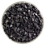 Black BE Opal Frit, 90 COE, Course, 1 lb. 0100