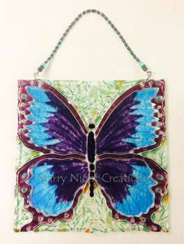 Example Butterfly Display from this Butterfly Mold...
