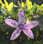 Lavender Pastel Flower, Ornament