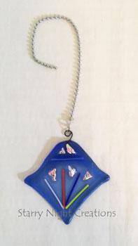Blue Diamond/Stingray Fan/Light Pull