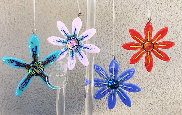 Pretty Flower Ornaments