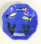 Little Fishies Swimming, Trinket Dish (Custom Order Only)