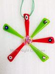 Bright Christmas Star Ornament